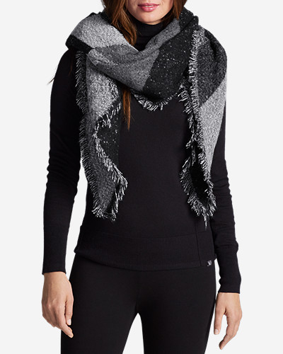 Accessories for Women: Women's Marled Blanket Scarf