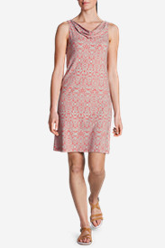 Red Dresses for Women: Women's Clyde Hill Dress - Print