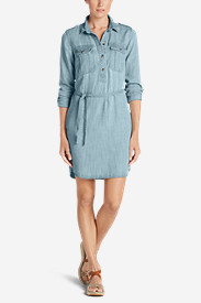 Women's Tranquil Indigo Shirt Dress