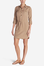 Women's Tranquil Shirt Dress - Solid
