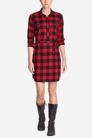 Women's Stine's Favorite Flannel Shirt Dress