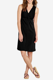 Women's Knit Front Knot Dress