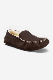 Men's Eddie Bauer Wool-Lined Loafer Slippers
