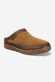 Suede Shoes for Men: Men's Eddie Bauer Shearling Scuff Slippers