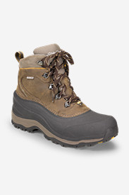 Waterproof Boots for Men: Men's Eddie Bauer Snowfoil Boot
