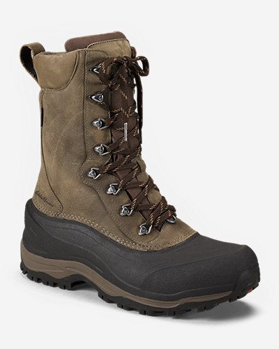 Leather Boots for Men: Men's Eddie Bauer Snoqualmie Pass Boot