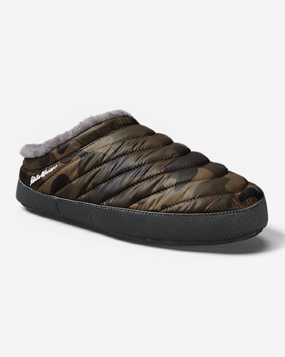 Green Shoes for Men: Men's Eddie Bauer MicroTherm® Slipper
