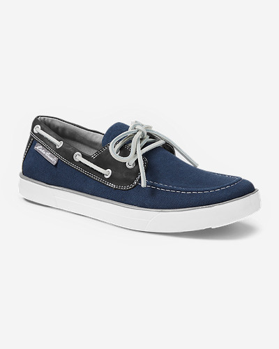 Blue Shoes for Men: Men's Eddie Bauer Rivet Moc