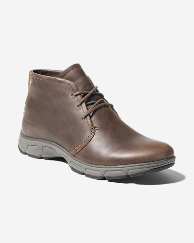 Leather Boots for Men: Men's Eddie Bauer Voyager Chukka