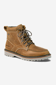 Leather Boots for Women: Severson Moc Toe