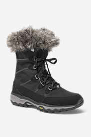 Faux Fur Boots for Women: Women's Eddie Bauer Solstice Mid Boot
