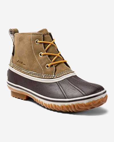 Women's Hunt Pac Mid Boot   Leather by Eddie Bauer