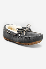 Women's Shearling-Lined Moccasin Slipper
