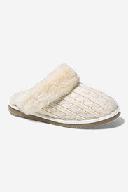 White Shoes for Women: Women's Eddie Bauer Shearling Scuff Slipper