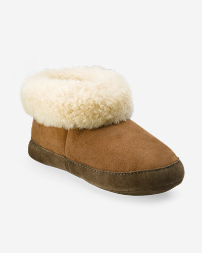 Insulated Shoes for Women: Women's Eddie Bauer Shearling Boot Slippers