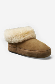 Women's Shearling Boot Slipper