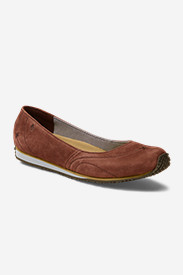 Brown Shoes for Women: Women's Eddie Bauer Stine Ballet