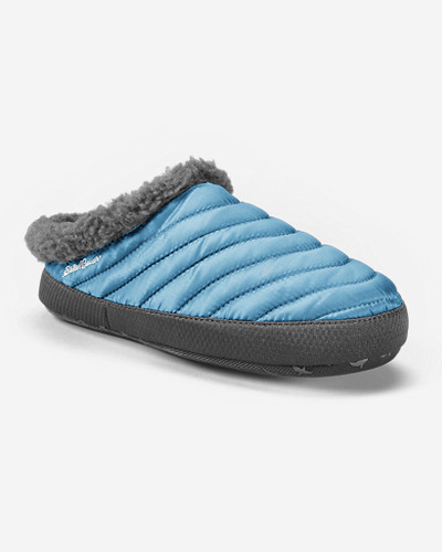 Blue Shoes for Women: Women's Eddie Bauer MicroTherm® Slipper - Women's