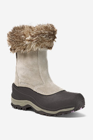 Faux Fur Boots for Women: Women's Snowfoil Zip Boot