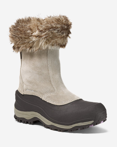 Insulated Shoes for Women: Women's Snowfoil Zip Boot