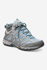 Leather Shoes for Women: Eddie Bauer Lukla Pro Mid Hiker - Women's