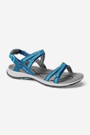 Blue Shoes for Women: Women's Eddie Bauer Esker Sandal