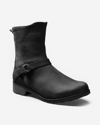 Black Boots for Women: Women's Eddie Bauer Covey Boot
