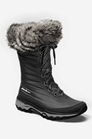 Faux Fur Boots for Women: Women's Eddie Bauer MicroTherm II Boot
