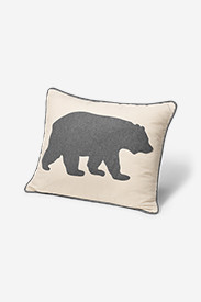 Gray Bear Decorative Pillow