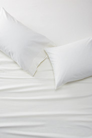 Bedding: Portuguese Flannel Sheet Set - Solid