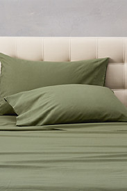 Bedding: Flannel Pillowcase Set - Solid