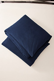 Insulated Bedding: Flannel Duvet Cover - Solid