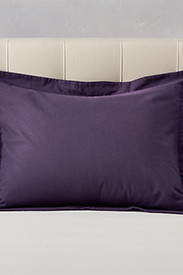 Shams: Flannel Pillow Sham - Solid