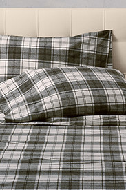 Standard Size Bedding: Flannel Pillowcase Set - Pattern