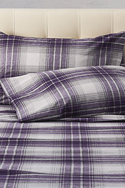 Plaid Bedding: Flannel Pillowcase Set - Pattern