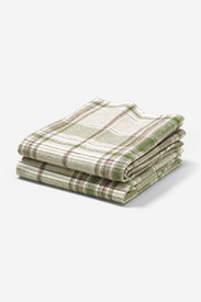 Insulated Bedding: Flannel Pillowcase Set - Pattern