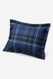 Flannel Shams: Flannel Pillow Sham - Pattern