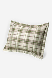 Plaid Bedding: Flannel Pillow Sham - Pattern
