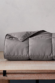 Insulated Bedding: Down Throw - Solid