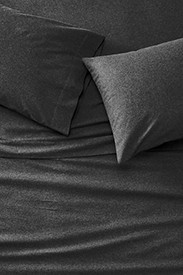 Bedding: Flannel Sheet Set - Heather