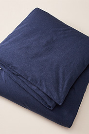 Flannel Duvet Cover - Heather
