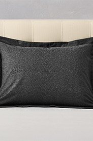 Insulated Bedding: Flannel Pillow Sham - Heather