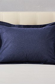 Flannel Pillow Sham - Heather