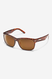 Nylon Accessories for Men: Suncloud Dashboard Sunglasses - Tortoise