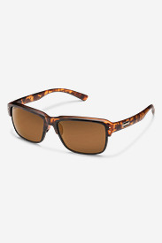 Nylon Accessories for Men: Suncloud Port_O_Call Sunglasses - Tortoise