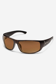 Nylon Accessories for Men: Suncloud Turbine Sunglasses - Blackened Tortoise