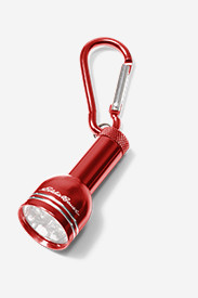 Carabiner Keychain 6 LED Light