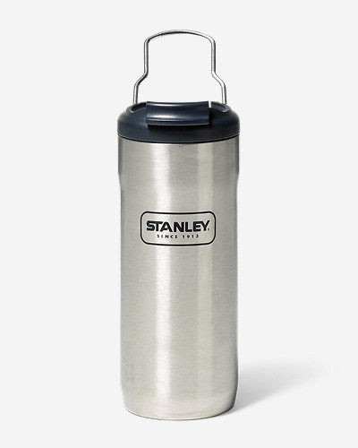 Insulated Camping Accessories: Locking Steel Mug - 16 oz.