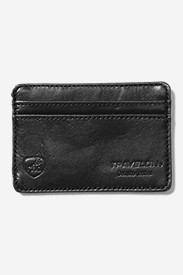 SafeID® Leather Card Sleeve