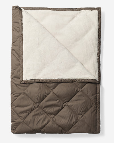 Polyester Bedding: Oversized Down Throw